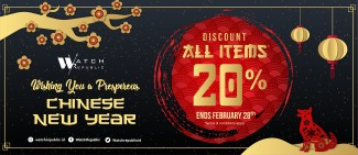 Discount 20% All Items