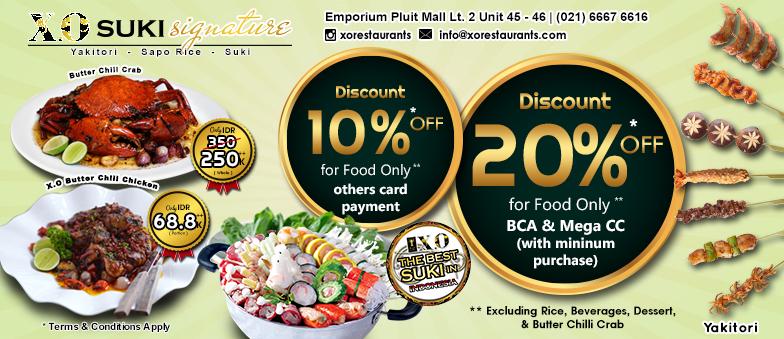 Discount 10% & 20%!