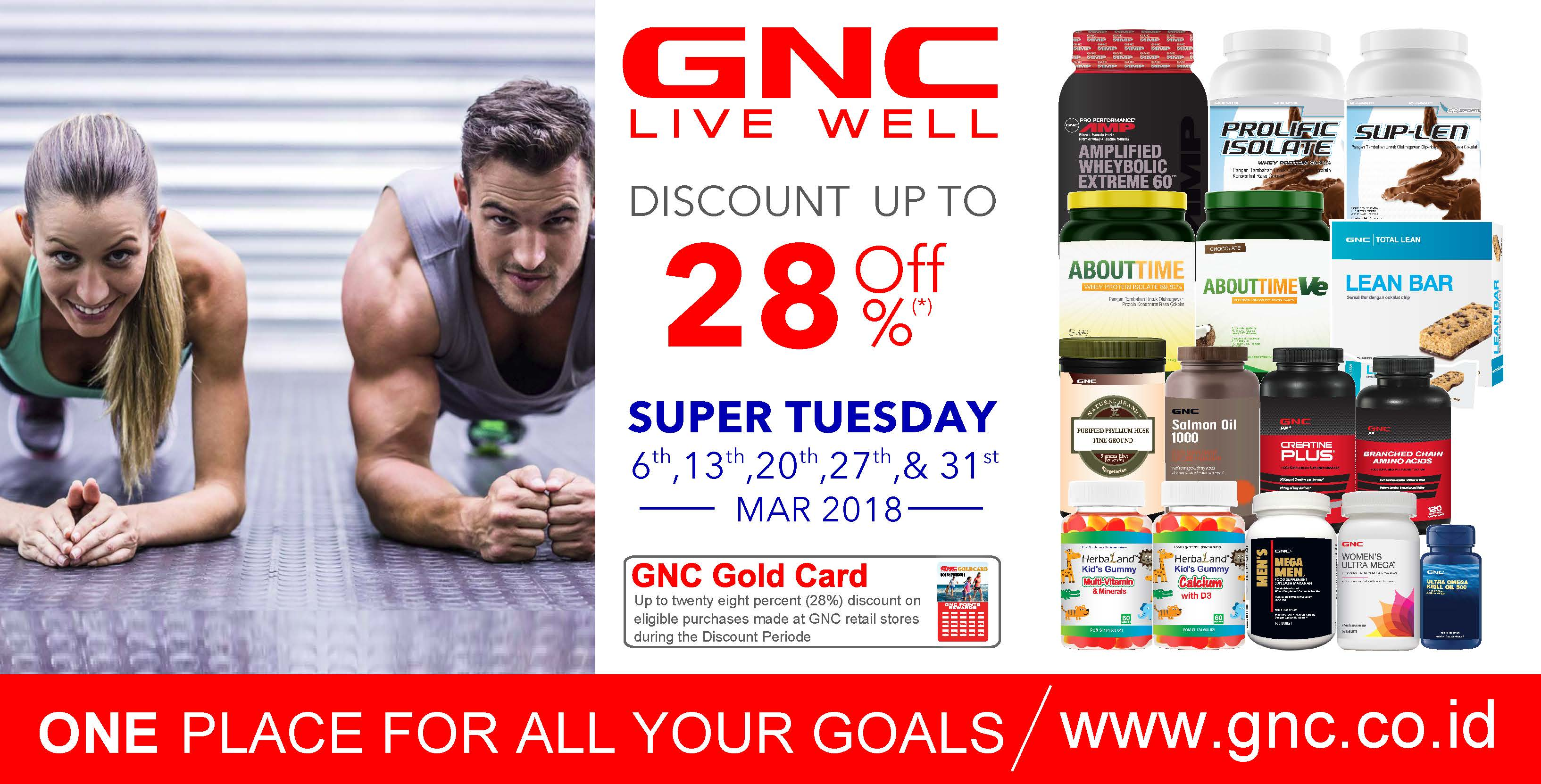 SUPER TUESDAY Disc. up to 20%