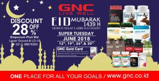 SUPER TUESDAY Disc. up to 28%