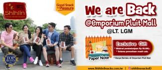 OPENING PROMO dari Shihlin Snacks Indonesia!