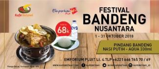 Festival Bandeng Nusantara dari Kafe Betawi
