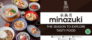 New Menu from Sushi Tei, MINAZUKI!