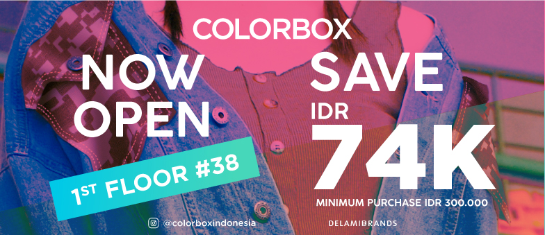 COLORBOX is now open on 1st Floor EPM!