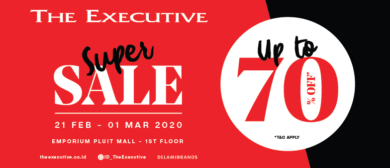 SUPER SALE up to 70% by The Executive!