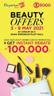 Get Instant Rebate Rp.100.000